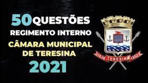 REGIMENTO TERESINA